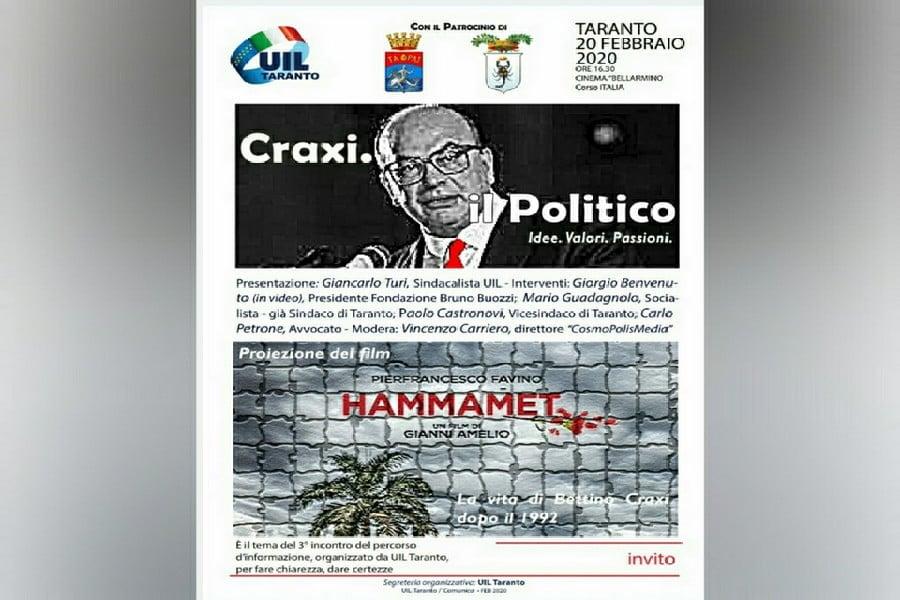 Craxi, dibattito intorno all'esponente politico