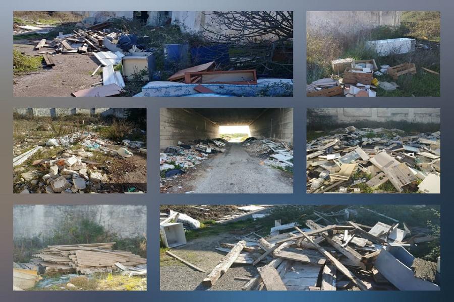 """Legambiente, Galeso: """"Passano i mesi e gli anni, ma i rifiuti sono sempre lì"""""""