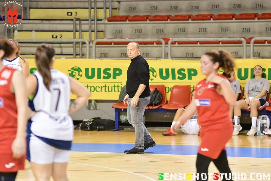 AdMaiora Basket, dichiarazioni coach Fabio Palagiano