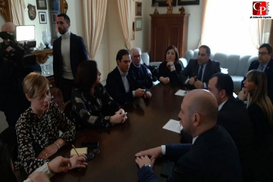 Questione ex Ilva, Melucci incontra i parlamentari jonici