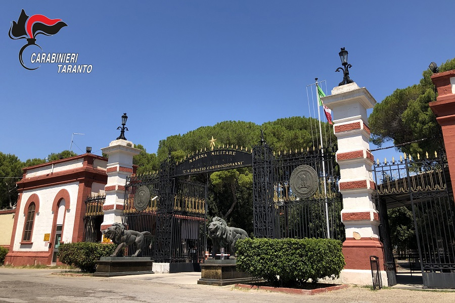 Carabinieri, visita del Generale Spagnol al Comando provinciale di Taranto