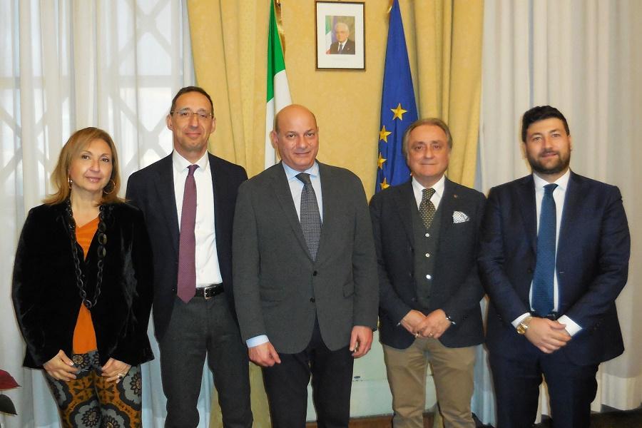 Il Prefetto di Taranto incontra l'Ordine degli Avvocati
