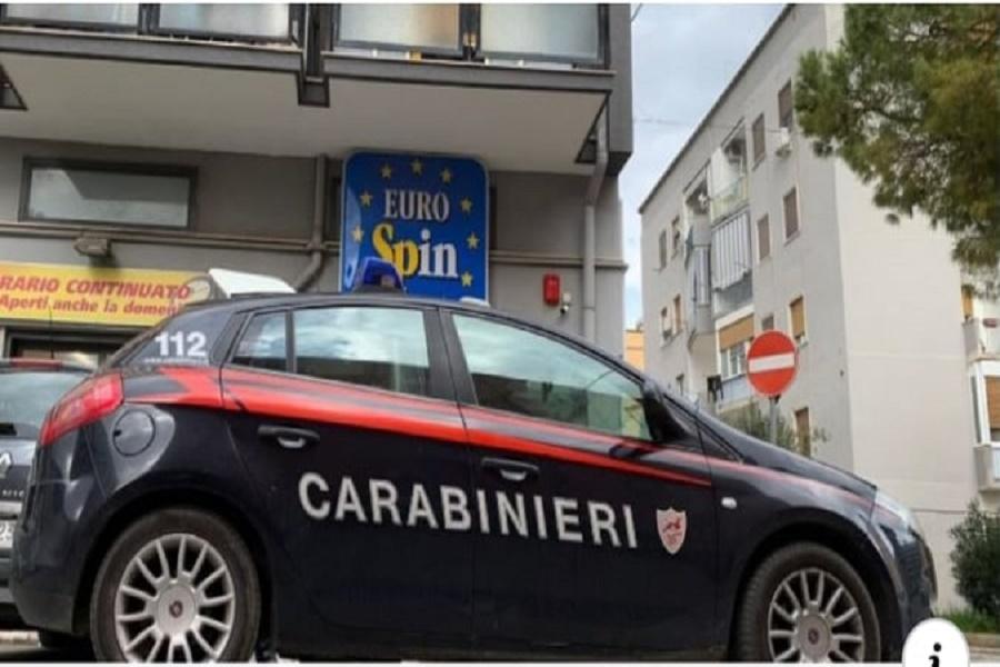 Taranto, rapina all'Eurospin
