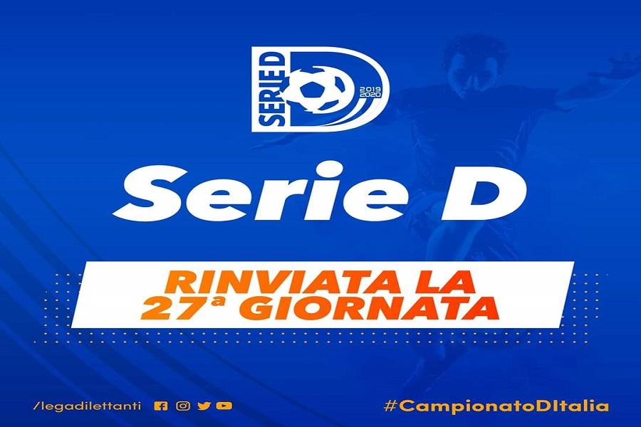 Serie D, tutto fermo. Salta anche Taranto – Gelbison