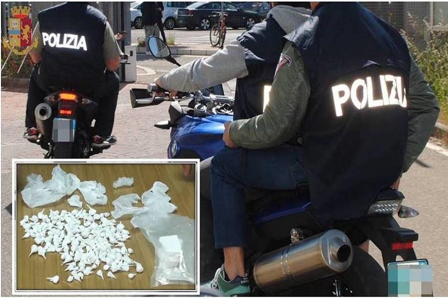 Taranto, droga nascosta in due calzini stesi ad asciugare: arrestato 56enne