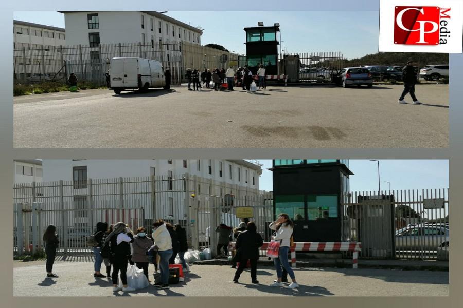 Carcere di Taranto: la protesta dei familiari