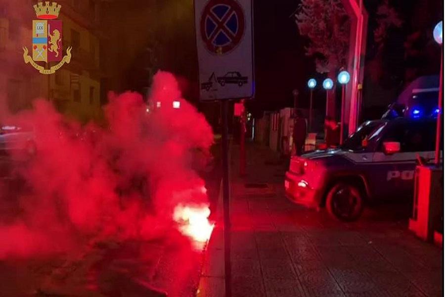 Taranto, denunciate undici persone dopo gli scontri alla visita di Salvini