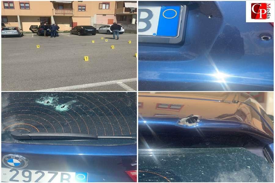 Spari contro un'auto al quartiere Paolo VI