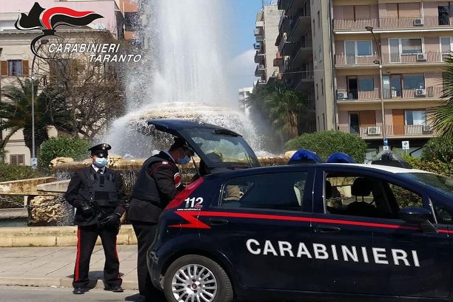Taranto, un primo bilancio dei controlli da parte dei Carabinieri