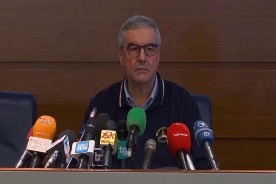 """Protezione Civile, sospesa conferenza: """"Borrelli, lieve stato febbrile"""""""