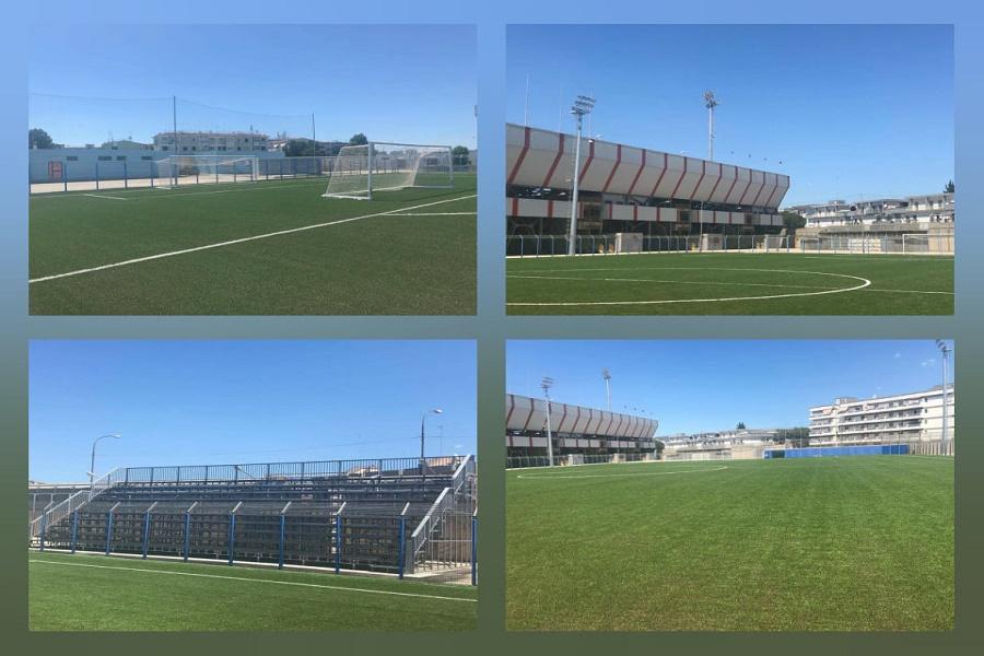 "Stadio ""Iacovone"", sopralluogo al campo B"