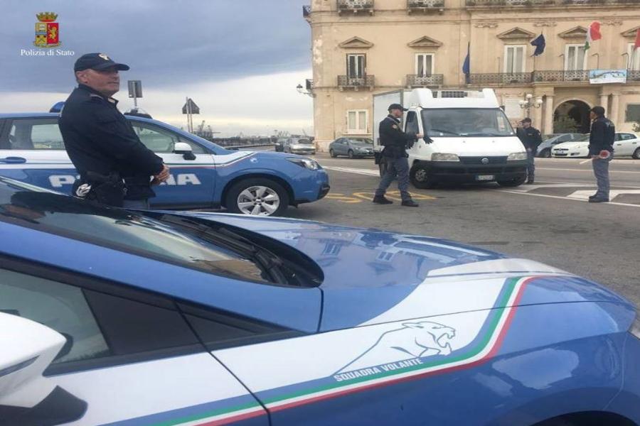 Taranto, controlli della Polizia di Stato: ecco il bilancio