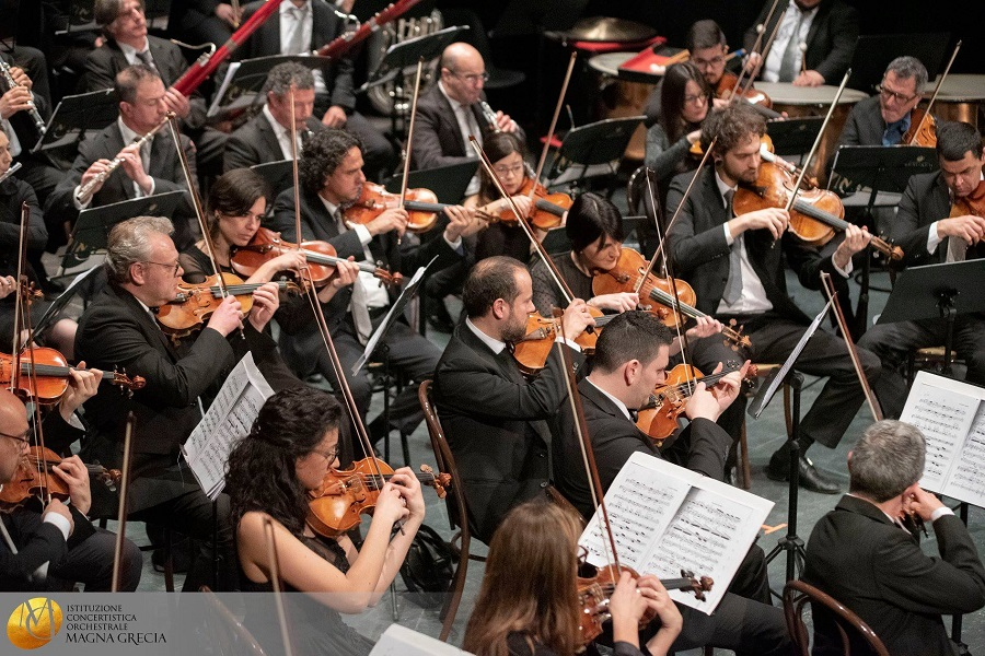 Orchestra della Magna Grecia, nasce un contest per professionisti degli spettacoli dal vivo