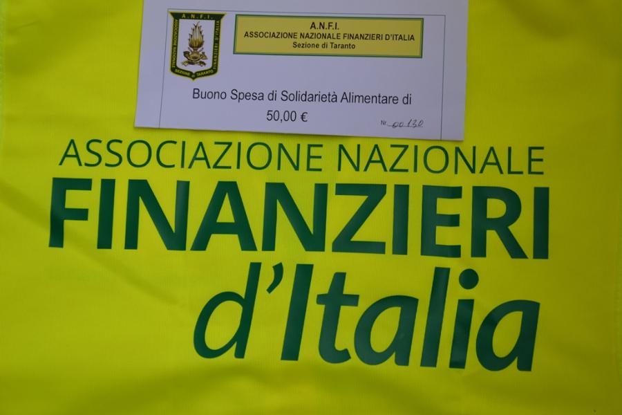 Covid-19, iniziativa di solidarietà dell'A.N.F.I. di Taranto