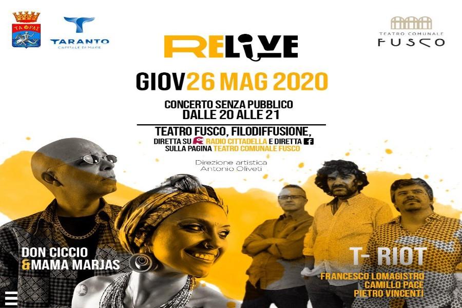Jazz e reggae sul palco del Fusco, per i concerti senza pubblico dell'amministrazione Melucci