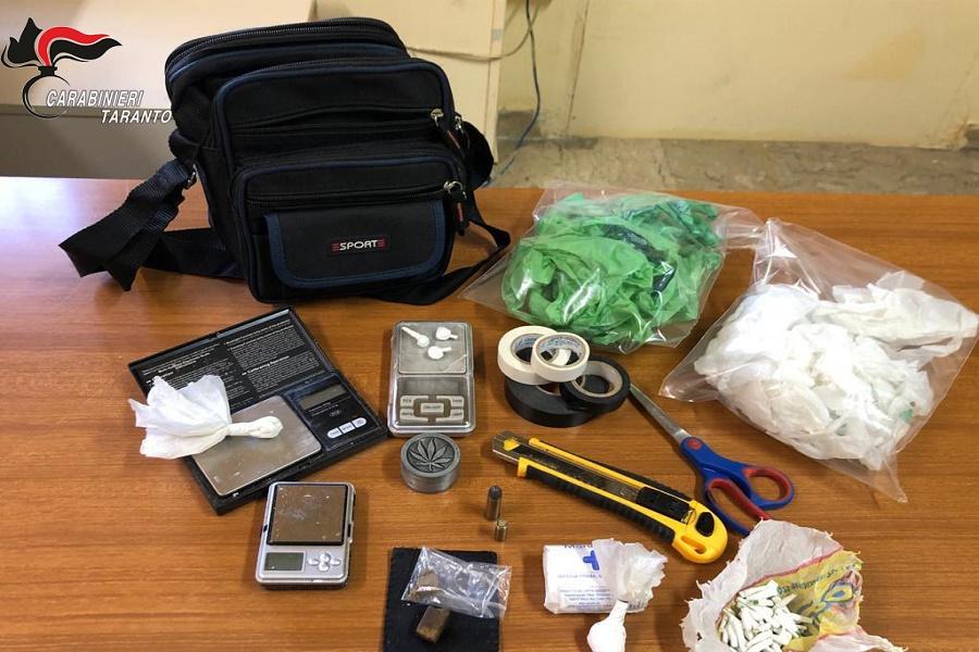 Manduria, armi e droga: arrestato 31 enne
