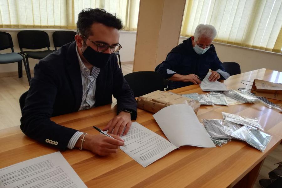 """A Ginosa arrivano le """"mascherine di comunità"""" per i cittadini"""