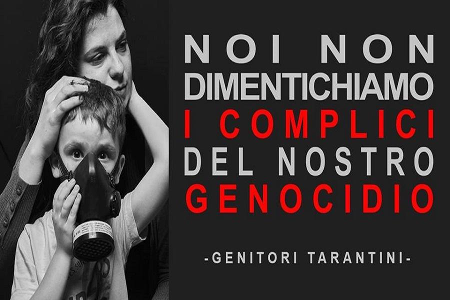 """Genitori Tarantini: """"I bambini di Taranto sacrificati al pari delle pecore"""""""