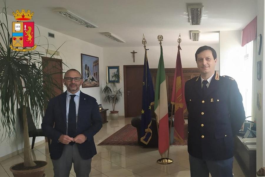 Il Commissariato di Polizia di Stato di Manduria ha un nuovo Dirigente