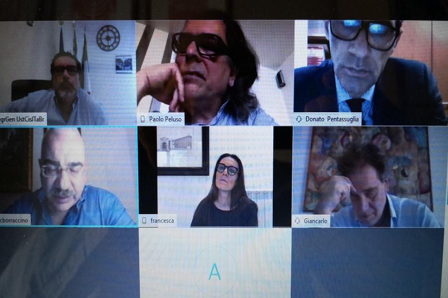 Cgil, Cisl, Uil e Regione: confronto su iniziative a Taranto