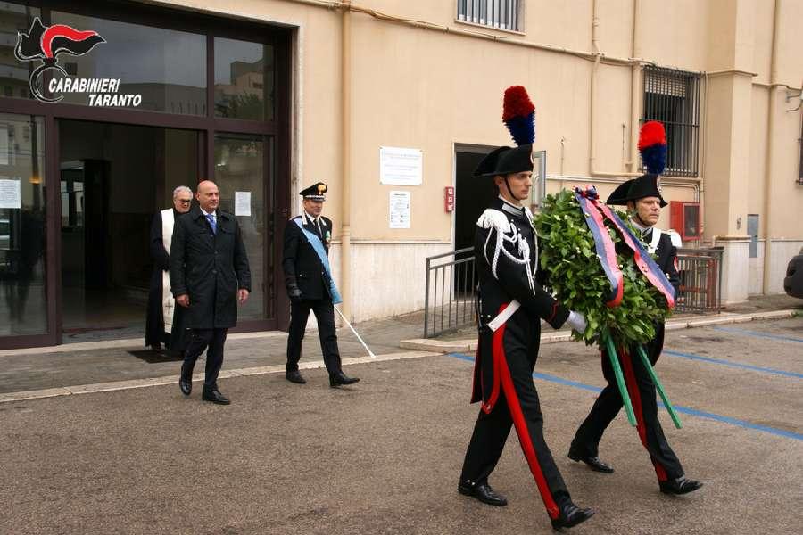 Taranto, Festa dell'Arma: il prefetto Martino visita il Comando Provinciale dei Carabinieri