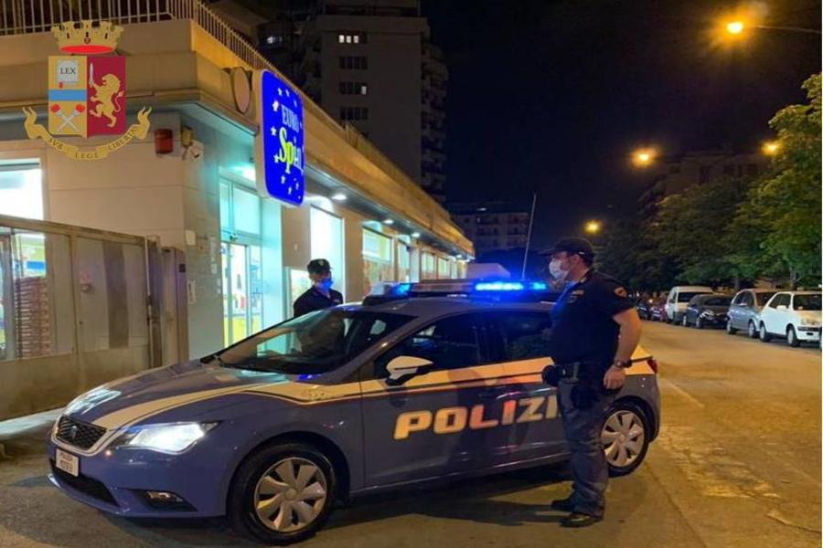 Taranto: rapina all'Eurospin, ma stavolta non c'è scampo