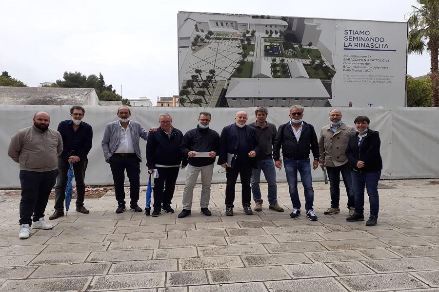 """Nuovo """"Polo della Musica"""" ai Baraccamenti Cattolica, parte il cantiere"""