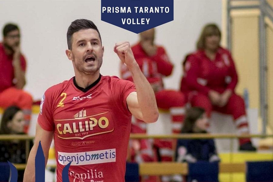 Altro colpo di mercato per la Prisma Taranto: arriva Coscione