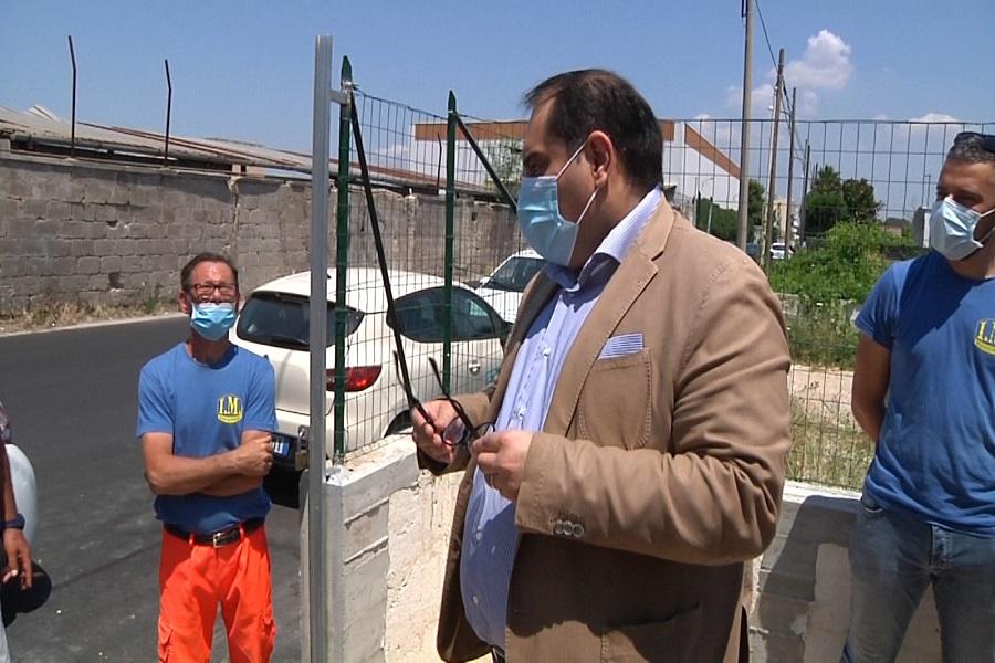 Nuovo impianto fognario nel quartiere Solito, lavori terminati in un anno