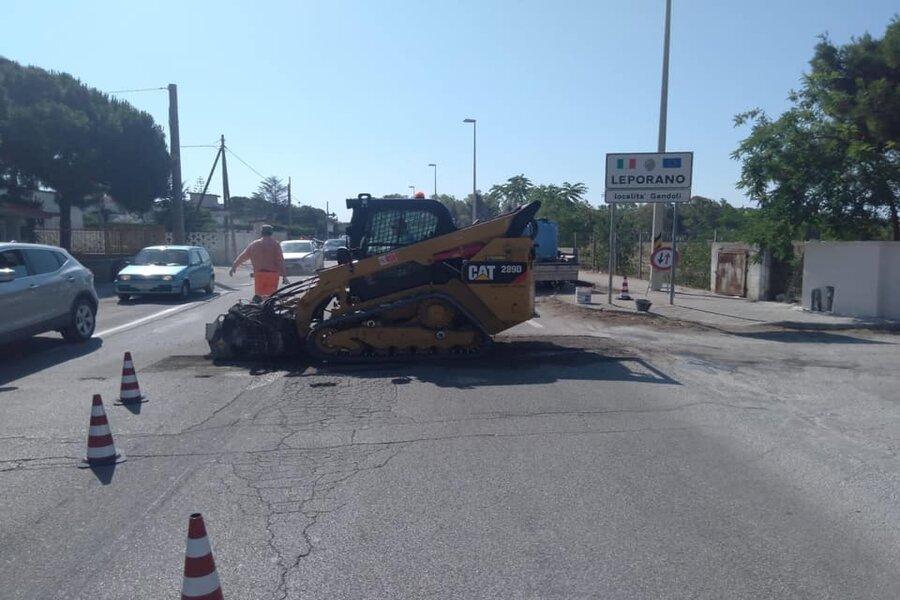 Leporano, Litoranea: al via i lavori di restyling delle strade