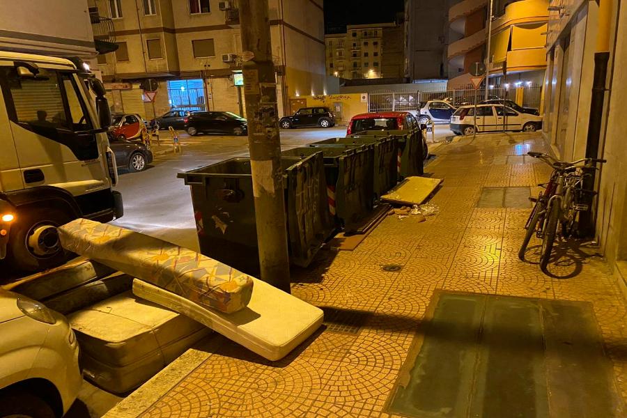 Taranto, rifiuti ingombranti: continua il contrasto agli abbandoni selvaggi