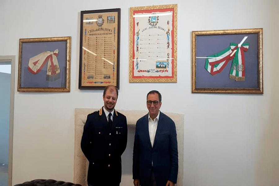Martina Franca, commissariato di Polizia: Amati è il nuovo dirigente