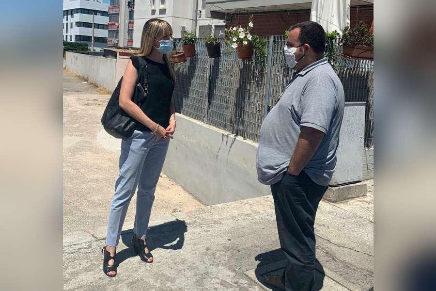 Taranto, sostegno ai senza fissa dimora: sopralluogo dei Servizi Sociali