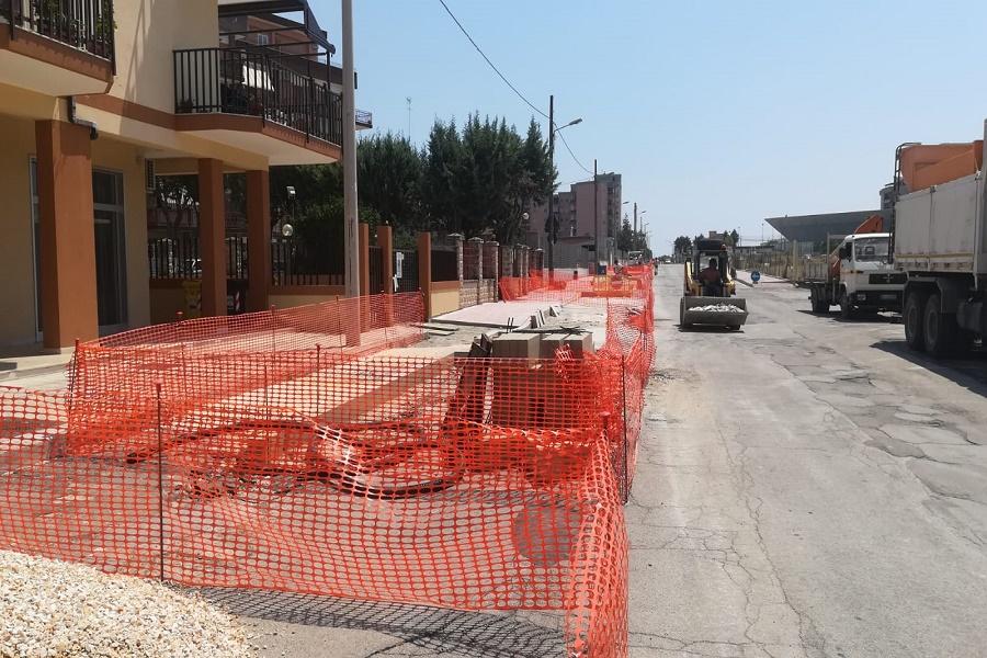 Piano strade e marciapiedi, sopralluogo in via Cacace