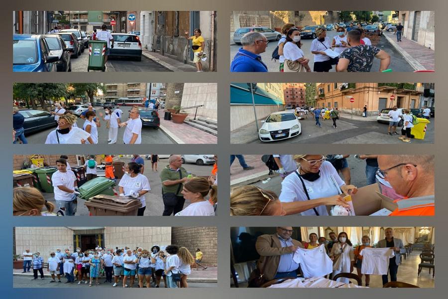 """""""Rete... a raccolta!"""", 50 volontari nel quartiere Tamburi"""