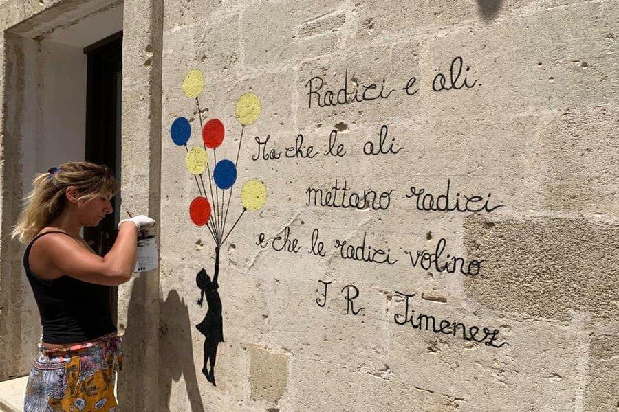 """A Maruggio il centro storico diventa un """"set poetico"""""""