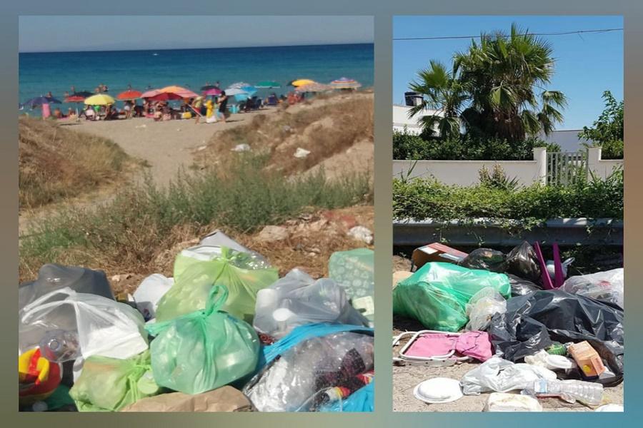 Lizzano, abbandono di rifiuti sulle spiagge: sindaco scrive in Procura