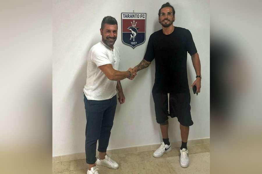 Taranto Calcio: ufficiali Ba ed Alfageme