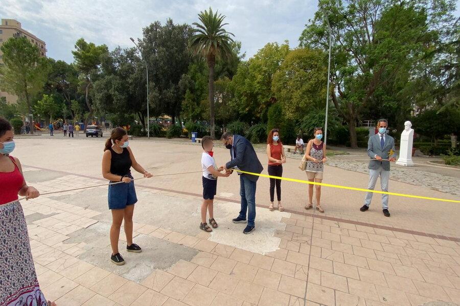Attività riabilitative in Villa Peripato, il sindaco Melucci partecipa all'avvio del progetto