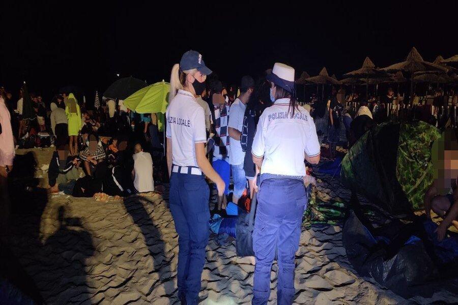 Ginosa: San Lorenzo 2020, controlli Polizia Locale in spiaggia