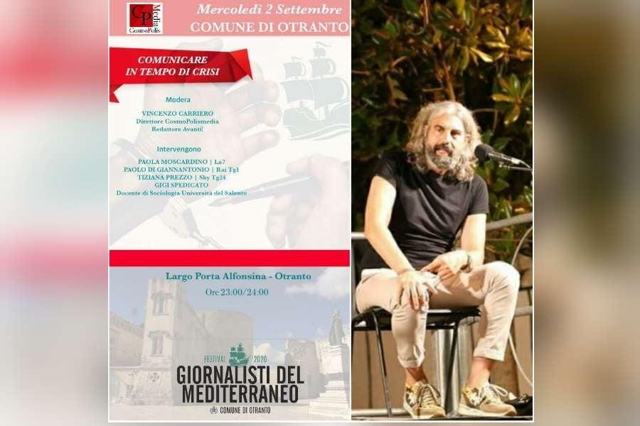 CosmoPolis al Festival Giornalisti del Mediterraneo