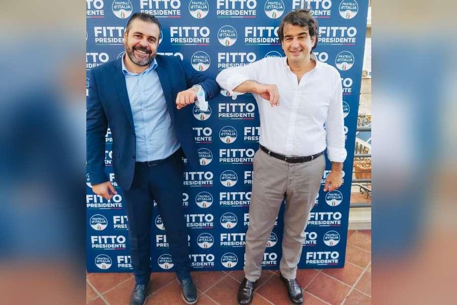 Regionali: Fitto presenta la candidatura di Maiorano