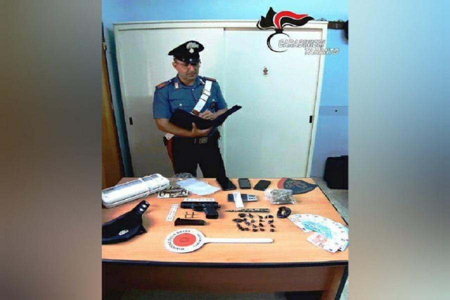 Castellaneta (TA), spaccio e armi: 3 arresti