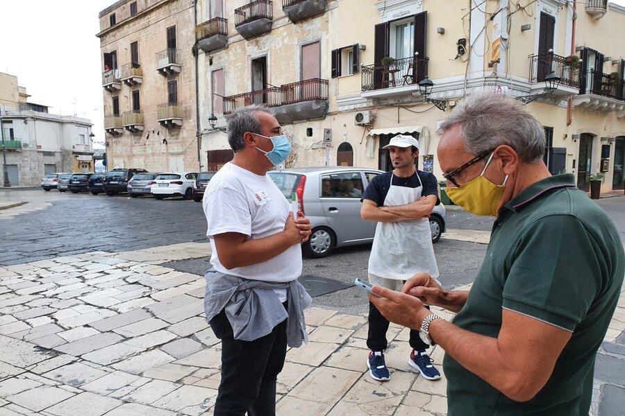 Taranto, raccolta differenziata: attività di sensibilizzazione in Città Vecchia
