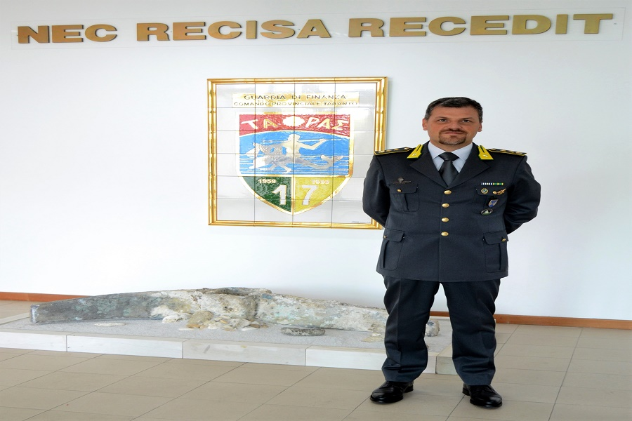GdF: nuovo comandante al gruppo di Taranto