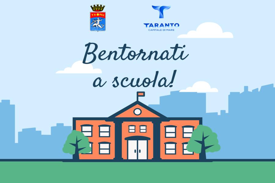Taranto, il rientro dei ragazzi fra i banchi di scuola