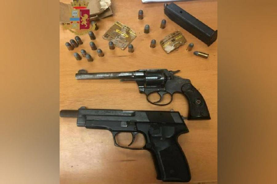 Taranto, giro di vite sulle armi: un arresto e due sequestri