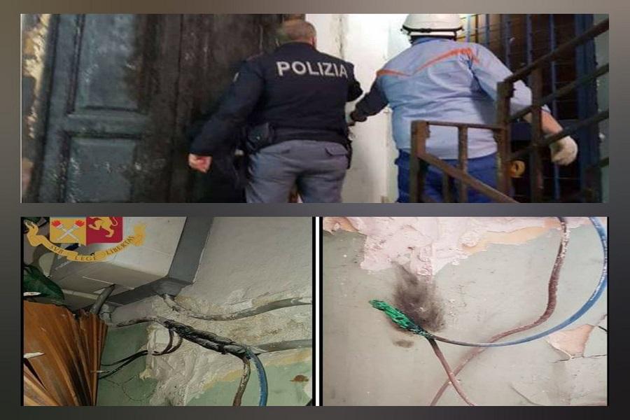 Taranto: furto di energia elettrica, denunciate 5 persone