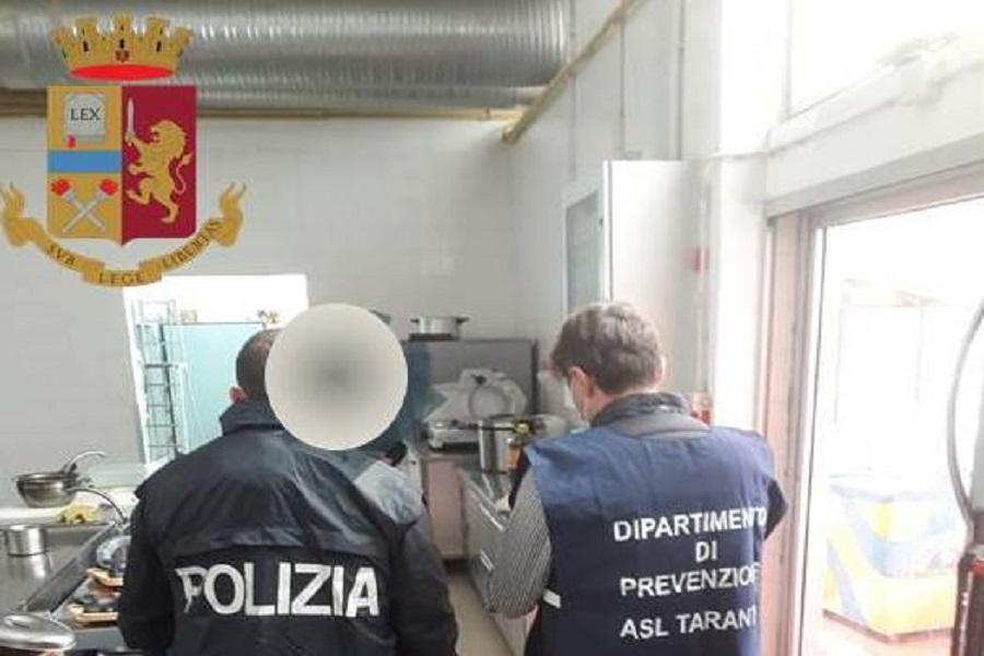 Taranto, carne e pesce scaduti: denunciato gestore di sushi