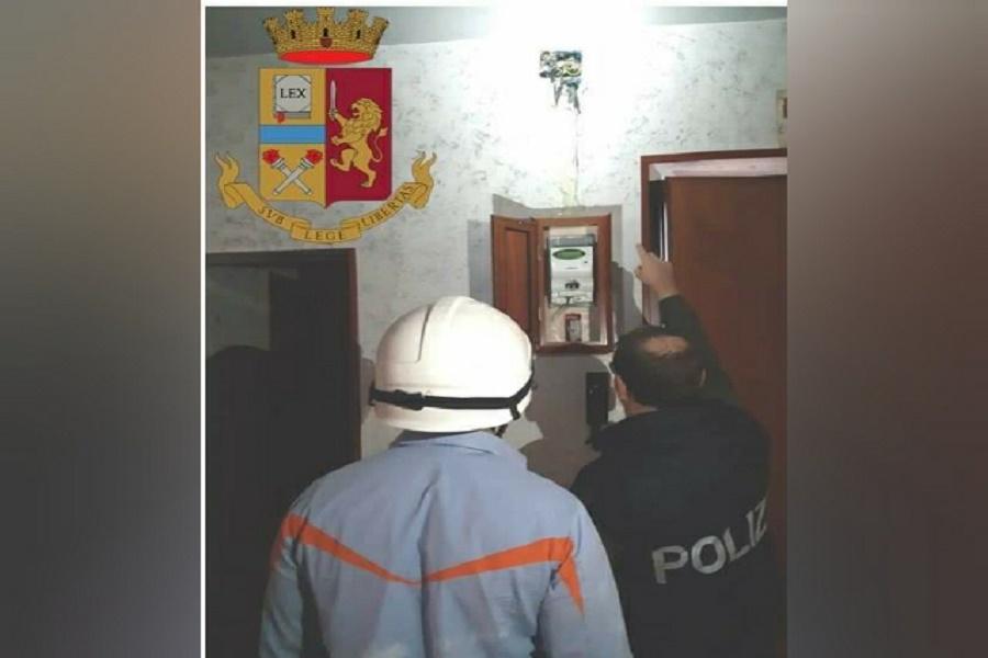 Taranto, furto di energia elettrica: la Polizia tra i vicoli della città vecchia